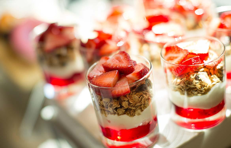 Granola Strawberry Parfait