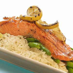 Columbia River Grilled Salmon