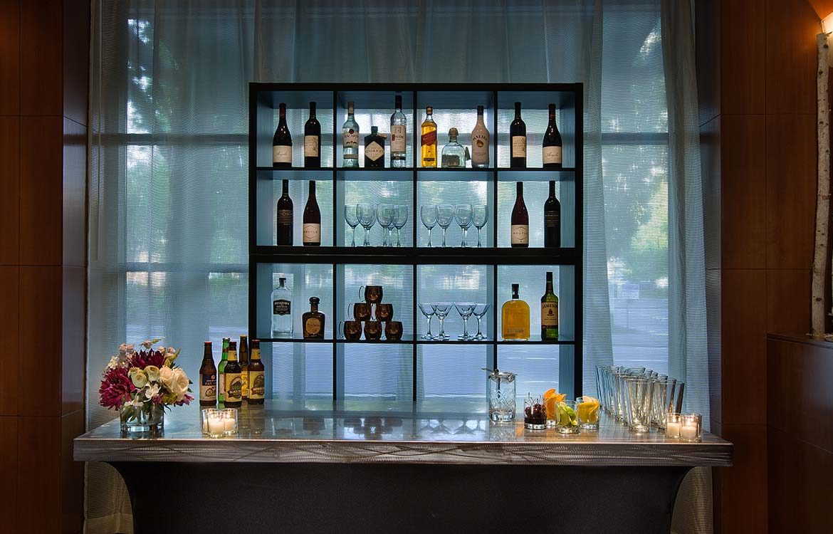 Custom Reception Bar